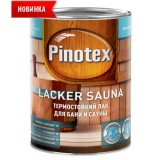 Лак Pinotex Lacker Sauna (термостойкий для бани и сауны)